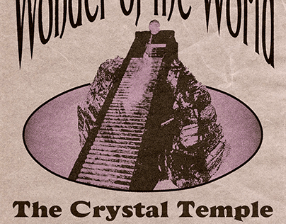 The Crystal Temple: A Fictional Poster