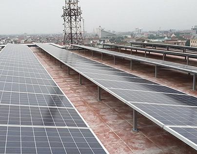 Lắp điện năng lượng mặt trời hòa lưới áp mái tại TpHCM
