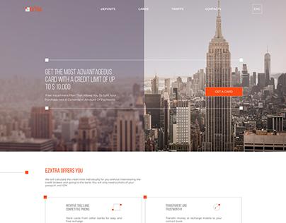 Extra bank website