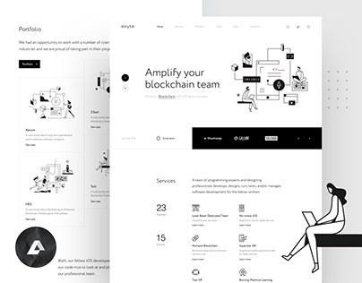 Exyte – website redesign & branding