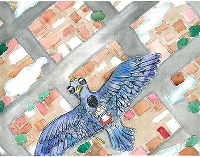 Illustration for kids book