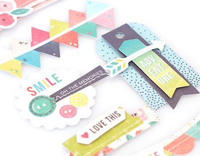 Fancy Free Pink Paislee Paige Evans Paper Collection