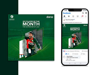 Cricket Social Media Post