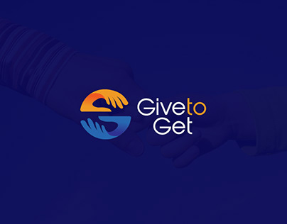 Give to get | Logo design