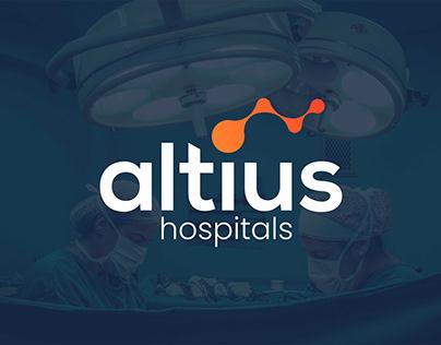Logo, Branding & Web Design - ALTIUS Hospitals