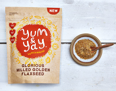 Yum & Yay branding and packaging