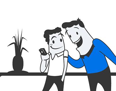 illustrations for app
