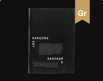 Les Garçons Sauvages - Portfolio