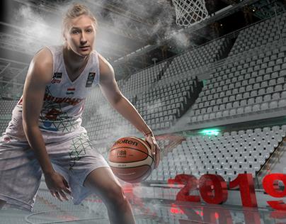 Hungarian National Basketball Teams HNY promo