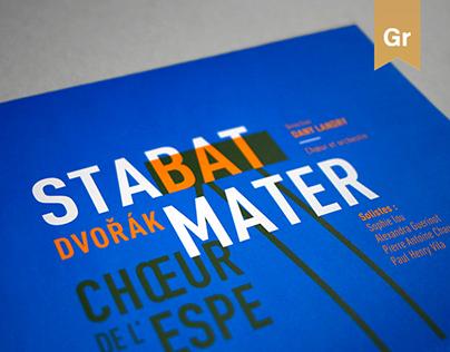 Stabat Mater - Poster design