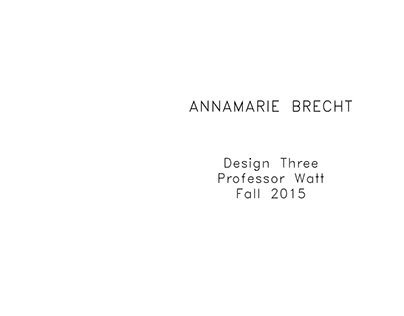 Design Three Portfolio