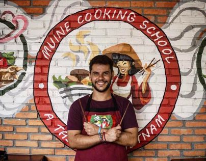 """Mural & Stickers For """"Muine Cooking School"""""""