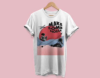 Make some noise, t-shirt project