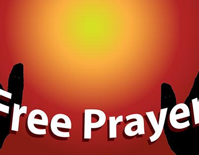 Free Prayer Yard Banner