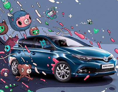 Illustrations for Toyota Auris