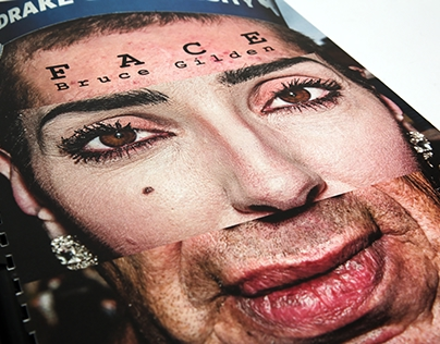 """Catalog for the exhibition Bruce Guilden """"FACE"""""""