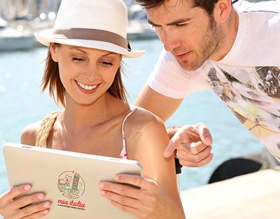 Mia Italia - Travel agency Branding