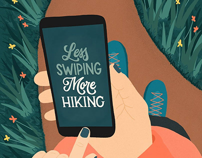 Less Swiping, More Hiking