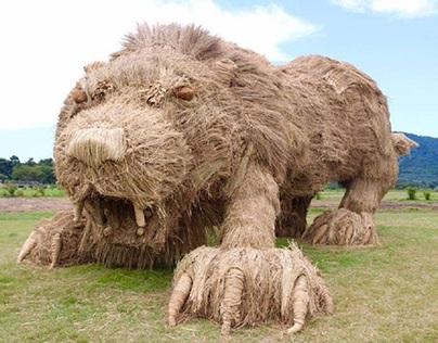 Straw Monsters 'Invade' Northern Japan - Vinay Mavani