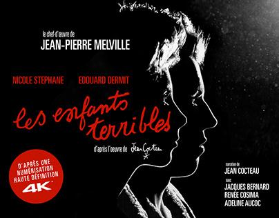 LES ENFANTS TERRIBLES BR/DVD (MELVILLE & COCTEAU)
