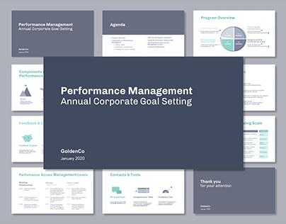 Corporate presentation. Cold theme. / Editorial