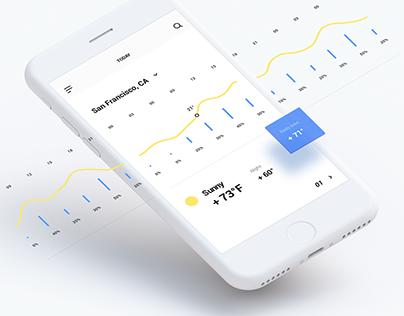 MNML / Free iOS UI Kit