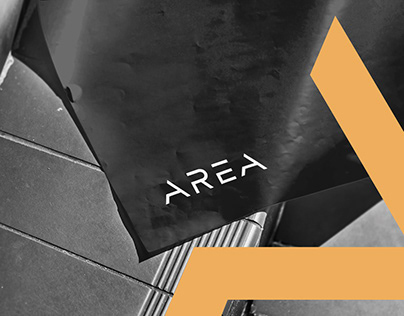 AREA • logo and brand identity