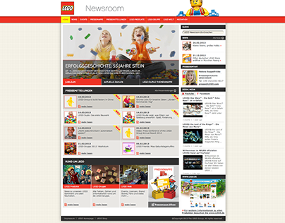 LEGO Newsroom   concept   for fuel new media