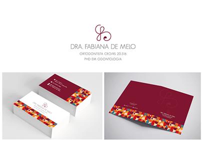 Marca e id. visual   Fabiana de Melo - ortodontista