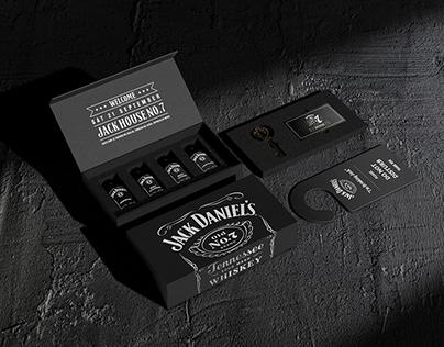 'Jack Daniel's House no.7' Welcome kit