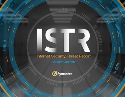 Infographic Series for Symantec ISTR