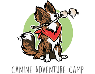 Logo for Canine Adventure Camp
