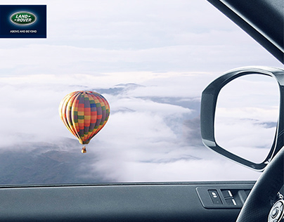 Land Rover Above Print Advertising Campaign