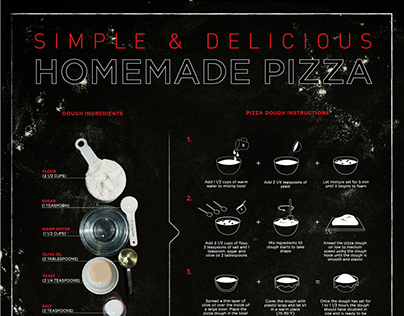Homemade Pizza Infographic