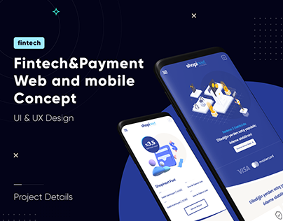 Fintech, Finance, Bank Web / Mobile UI&UX Design