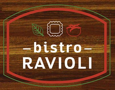 Bistro Ravioli: Corporate Identity & Ad Campaign