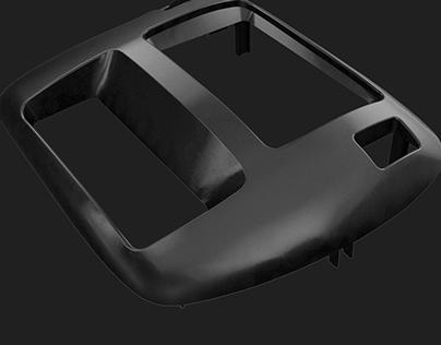 Board repair. 3D modeling and printing