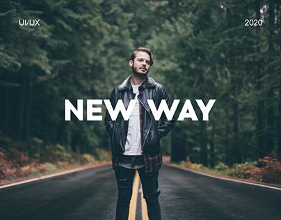 New Way | Web design | UI/UX