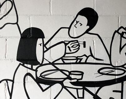 mural 'Makgeolli'