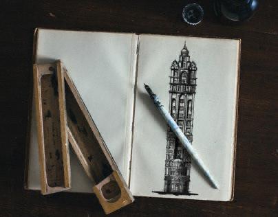Residential BLDG. Digital Sketch