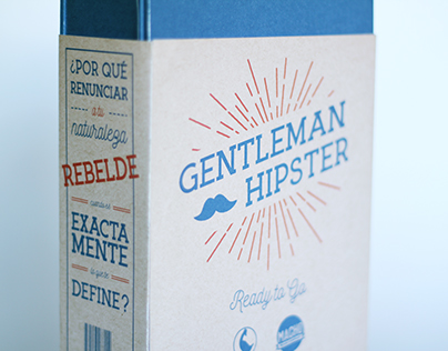 Gentleman Hipster - Packaging