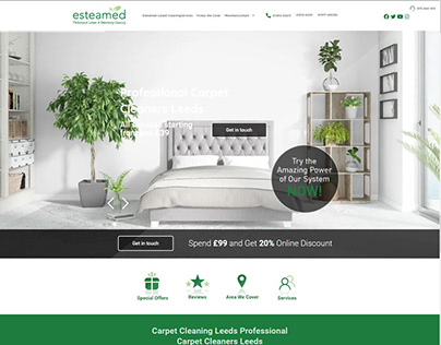carpet cleaners website