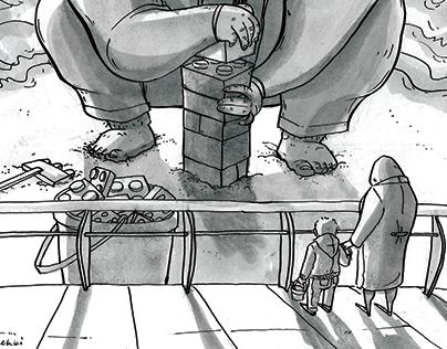 As-Safir Editorial Cartoons