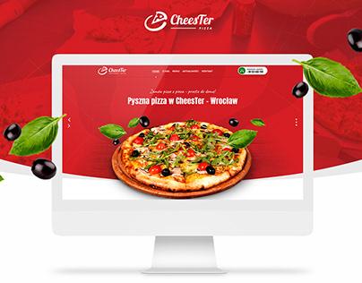 CheesTer - Pizza Website