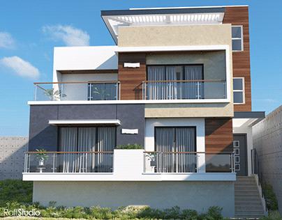 conception d'une maison front de mer