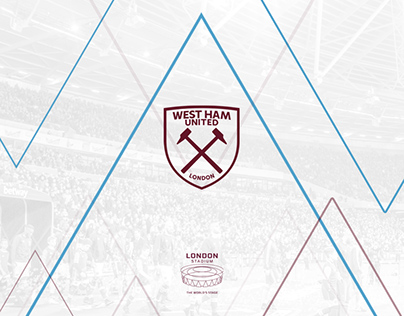London Stadium - West Ham 17/18 Social Media Graphics
