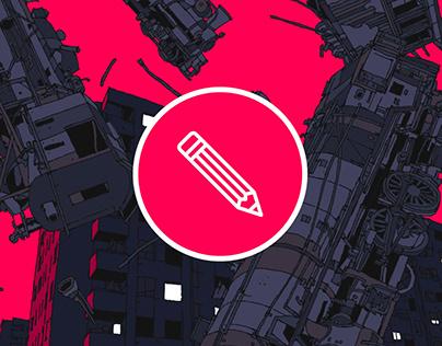 Illustration // Trains Invasion
