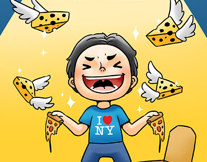 Domino's Singapore - Social Content Illustration