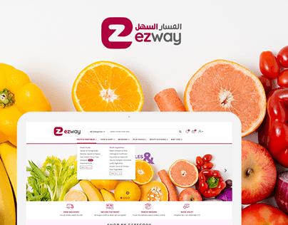Fruits & Vegetables Ecommerce website Design
