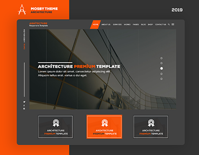 Mosby Architecture - UI/UX Design
